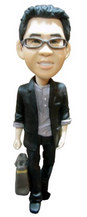 Fashion male Bobble Head Doll