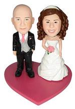 Bobble Head Doll Wedding Couple 12