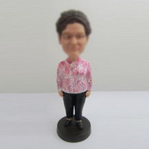 Personalized custom Mom bobbleheads