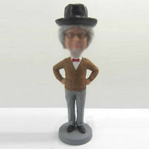 Gentleman bobbleheads custom
