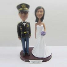 Personalized custom wedding cake bobblehead