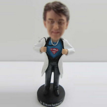 Customized doctors look at me bobbleheads