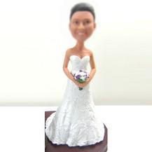 Bobbleheads custom beautiful Bride