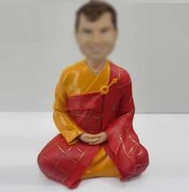 Bobbleheads custom Buddhist monk