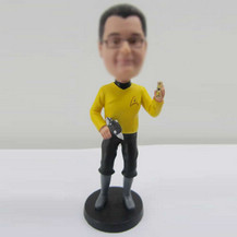 Personalized custom Star Trek bobbleheads