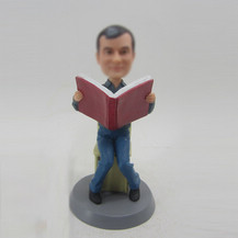 Personalized custom Scholar bobbleheads