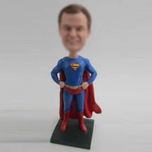 Personalized custom superman bobbleheads
