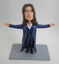Personalized custom Magician bobbleheads