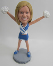 Customized Cheerleaders bobbleheads