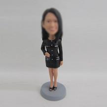 Bobbleheads custom black Skirt
