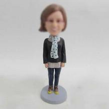 Personalized custom teacher bobblehead