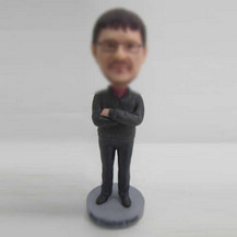 Customized casual man bobbleheads