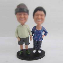 Customized couple bobblehead