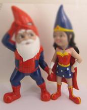 Customized Cartoon couple bobbleheads