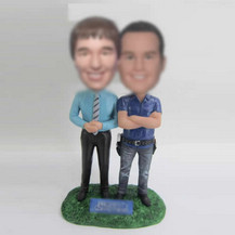 Bobbleheads custom best friends