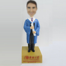 Graduation bobbleheads custom
