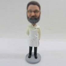 Customized Chef bobble heads