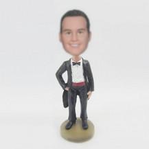 Bobbleheads custom Black tuxedor