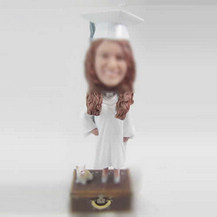 Graduation bobble heads custom