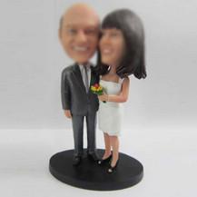 happiness wedding cake bobble head