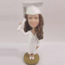 Personalized custom Graduation bobble head