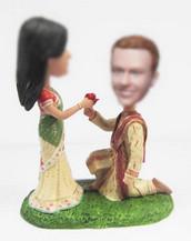 India wedding cake bobblehead