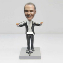 Personalized custom Music conductor bobbleheads