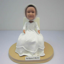 Customized cute baby bobbleheads
