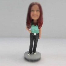 Bobbleheads custom Beautiful girl