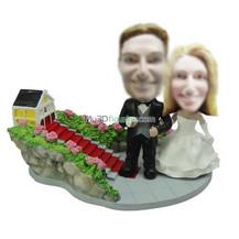Personalized custom wedding bobble heads
