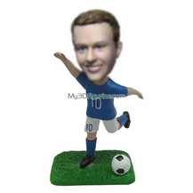 Personalized custom football bobbleheads