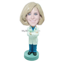 Customized doctors bobbleheads