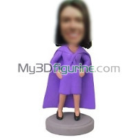 Personalized custom super CEO bobbleheads