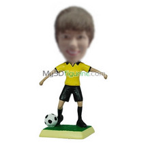 Personalized custom football bobble head