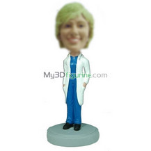 Customized doctors bobble heads