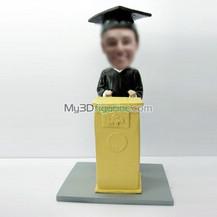 custom Graduation bobbleheads