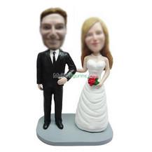 Personalized custom wedding bobblehead dolls