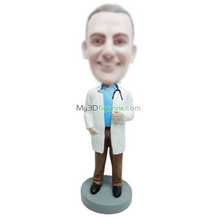 Customized doctor bobbleheads