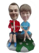 Personalized custom couple bobble heads