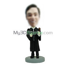 Personalized custom Judge bobbleheads