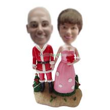 custom Special wedding cake bobbleheads