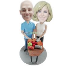 custom couple bobble heads