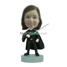custom funny girl bobbleheads