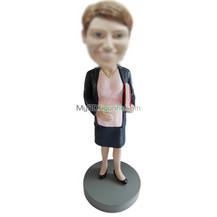 custom female teacher bobbleheads