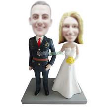 custom wedding bobble head