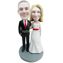 custom wedding bobblehead doll