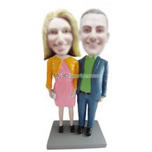 custom couple bobble head