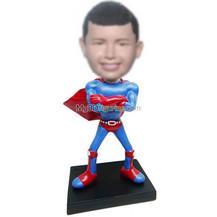 Personalized custom super boy bobbleheads