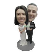 custom wedding cake bobbleheads