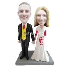 Personalized custom wedding bobbleheads